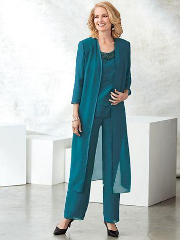 Embellished Pants Set - Image 2 of 2