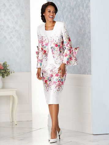 Floral Print Skirt Suit - Image 10 of 10