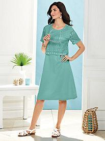 Koret® Lace Popover Dress