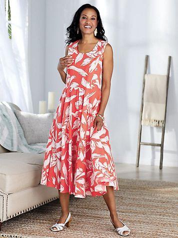 Print Cotton Sundress