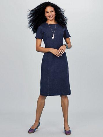 Koret® Stretch Denim Dress