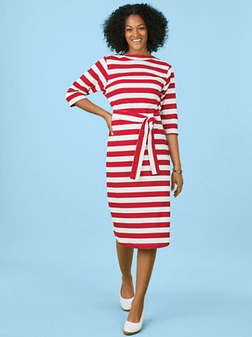Boatneck Dress - Image 1 of 7