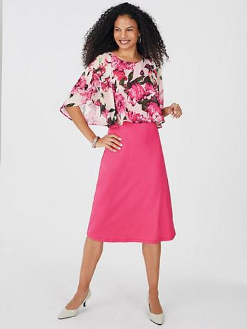 Floral Popover Dress - Image 3 of 3