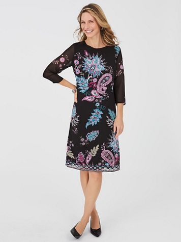 Paisley Print Dress - Image 3 of 3