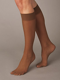 6-PK Knee High Stockings