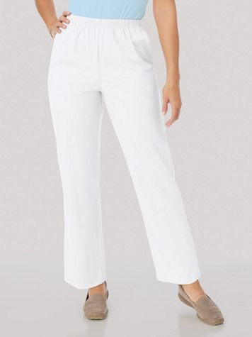 Alfred Dunner® Stretch Twill Pants - Image 7 of 8