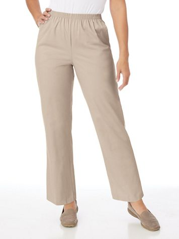 Alfred Dunner® Stretch Twill Pants - Image 4 of 7