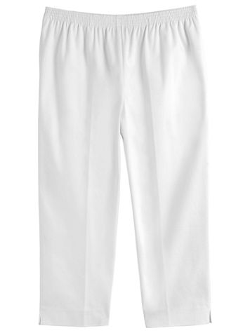 Pull-On Denim Capris by Alfred Dunner