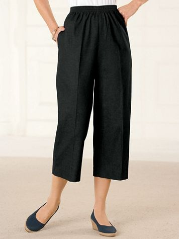 Pull-On Denim Capris by Alfred Dunner - Image 0 of 4