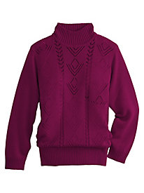 Acrylic Knit Sweater by Old Pueblo Traders