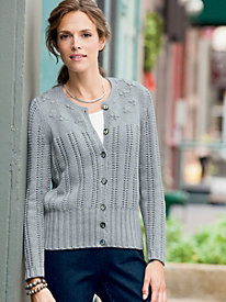 1950s Style Sweaters, Crop Cardigans, Twin Sets Beautiful Impressions Cardigan $29.97 AT vintagedancer.com