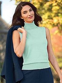 Sleeveless Hepburn Turtleneck