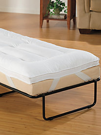 Ottoman Bed Pillowtop Mattress Pad
