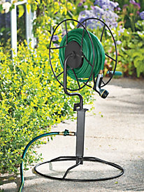 Swivel Hose Reel with Patio Base