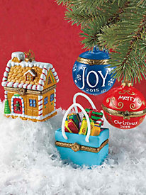 Christmas Surprise Ornaments