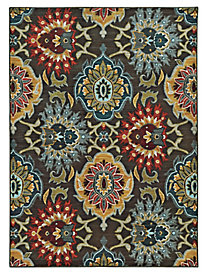 Sedona Desert Bloom Runner (2-ft.3-in.x7-ft.6-in.)