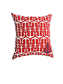 Anchors Away Indoor/Outdoor Pillow