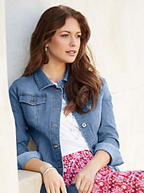Stretch Denim Jacket