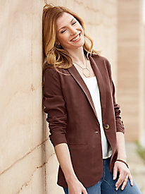 Perfect Silk Blazer