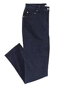 Modern Fit Straight-Leg Stretch Corduroy Jeans