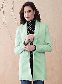 Cotton Wool Open Cardigan