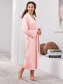 Washable Silk Charmeuse Robe