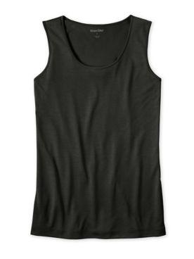 Ladies' Scoop Tank in Lightweight Washable Silk