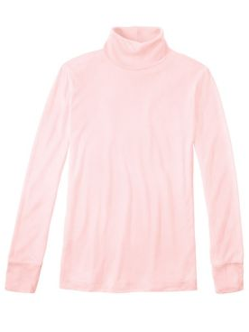 Ladies' Long Sleeve Turtleneck in Heavyweight Washable Silk
