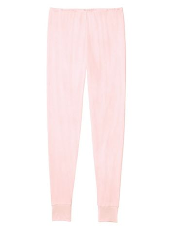 Ladies' Long Underwear Pant in Mid-weight Washable Silk