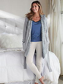 Pure Cotton Cable Lounge Pant