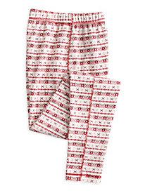 Print Women's Cotton Silk Thermal Layer Pant