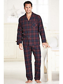 Men's Majestic Flannel Pajama Set