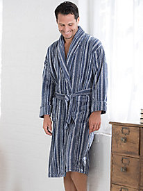 Men's Terry Velour Robe by WinterSilks