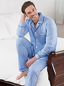 Men's Print Piped Pajamas by Majestic