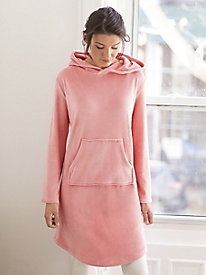 Velour Hooded Snuggler by Softies
