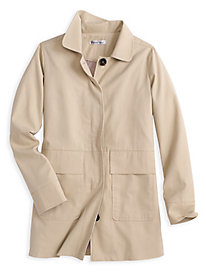 Cotton Twill Jacket with Full Lining