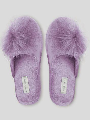Patricia Green Daisy Pouf Scuff Slippers - Image 1 of 1