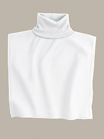 Unisex Turtleneck Dickey in Mid-weight Washable Silk