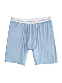Men's WinterSilks Logo Boxer Brief in Washable Silk