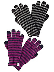 Women's Smartwool Merino Blend Striped Gloves