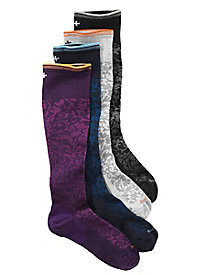 On the Spot-Moderate Support Compression Knee-Highs by Sockwell