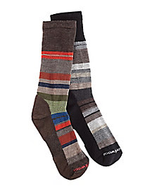 Men's Smartwool Striped Crew Socks