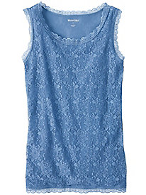 Mesh Lined Lace Cami