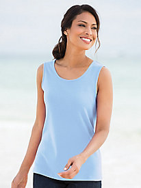 Coastal Cotton Knit Tank