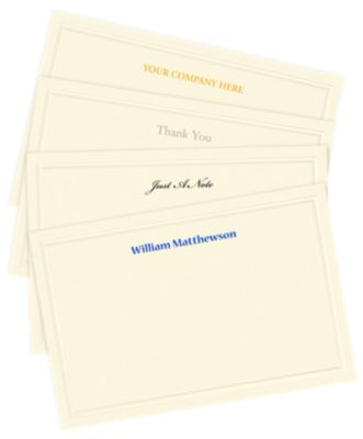 Correspondence Note Cards
