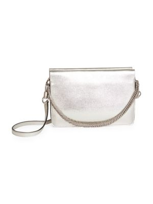 Cross3 Metallic Leather Crossbody Bag by Givenchy