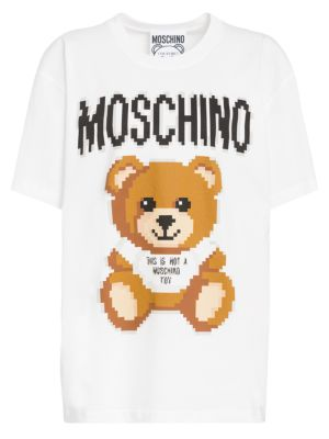 Moschino X Sims Pixel Capsule Teddy Bear Tee by Moschino