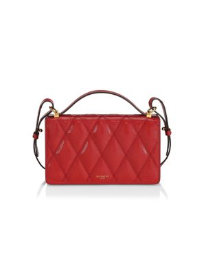 Losange Quilted Leather Crossbody Bag by Givenchy