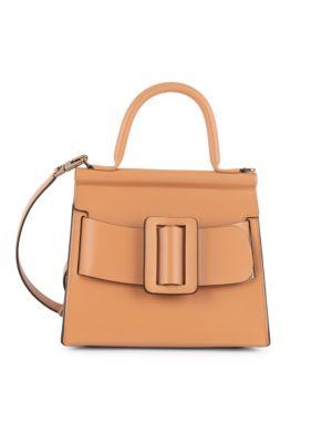 Karl 24 Leather Top Handle Bag by Boyy