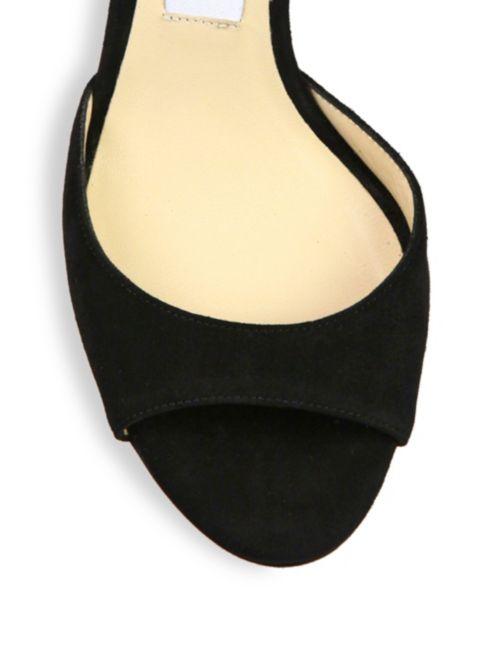 5a85e01ddf83 ... Sandals Suede D orsay Annie Ankle strap Jimmy Choo xZCqPwqB ...